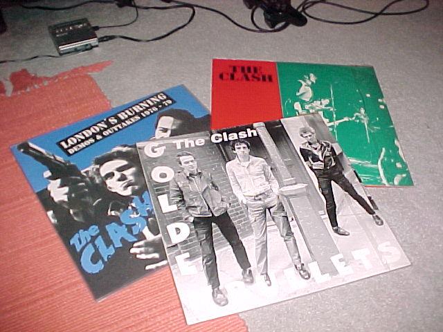 Sharoma > The Clash - Bootlegs & Rarities