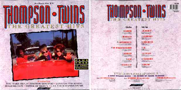 Thompson twins compilations for House music 1990 hits